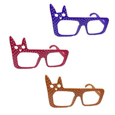 Oculos-Gato-Poa---sem-lentes---cores-sortidas---pacote-10-unidades