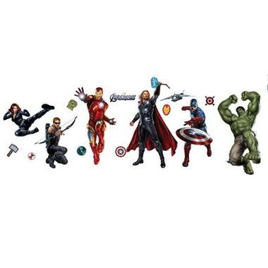 Painel--Os-Vingadores---Avengers-Standart---Decorativo---e.v.a.---embalagem-16-itens