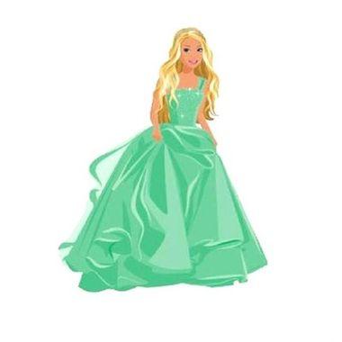 Painel-Barbie---Verde---Decorativo---e.v.a.---unidade