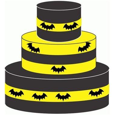 Bolo-Falso-Morcego---Amarelo-e-Preto---unidade