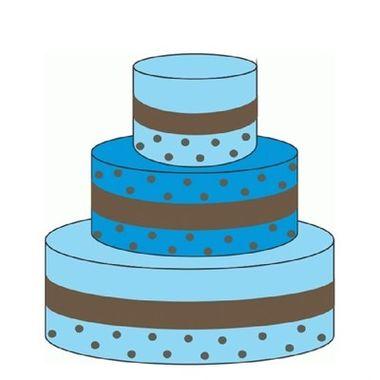 Bolo-Falso-Poa-Azul-Decorativo-unidade