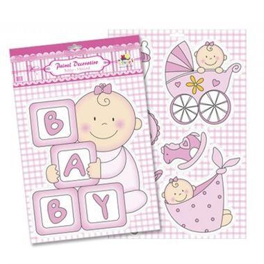 Painel-Decorativo-baby-Menina---Cartonagem---destacavel---unidade
