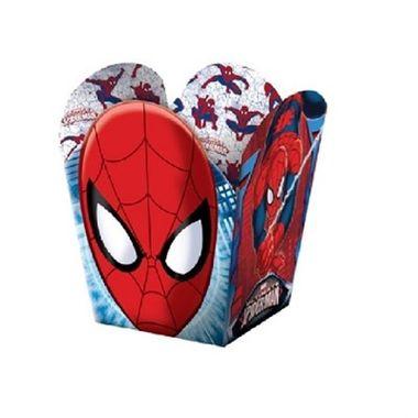 Cachepot-Homem-Aranha---Ultimate--Pequeno---Cartonagem---08-unidades