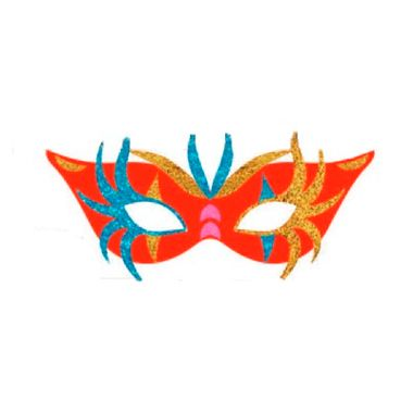 Painel-Mascara-de-Carnaval-Vermelho---e.v.a.---unidade