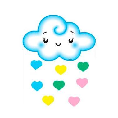 Painel-Nuvem-Azul-Chuva-de-Amor---e.v.a.---9-pecas