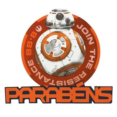 Painel-Parabens-BB-8---Star-Wars---e.v.a.---unidade