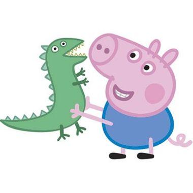 Painel-Peppa-Pig---George-e-Dinossauro---unidade