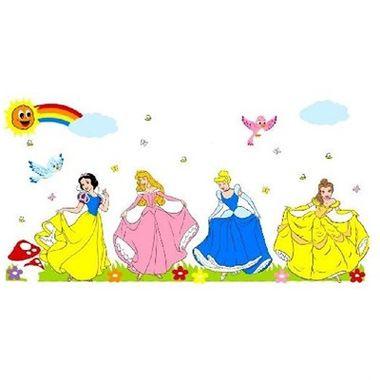Painel-Princesas-Standart---Decorativo---e.v.a.---embalagem-37-itens