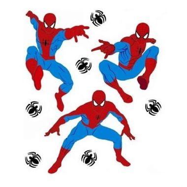 Painel-Spider-Man---Homem-Aranha---Spider-Sense---Decorativo---e.v.a.---embalagem-9-itens