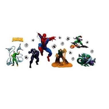 Painel-Spider-Man-Standart---Homem-Aranha---Spider-Sense---Decorativo---e.v.a.---embalagem-19-itens
