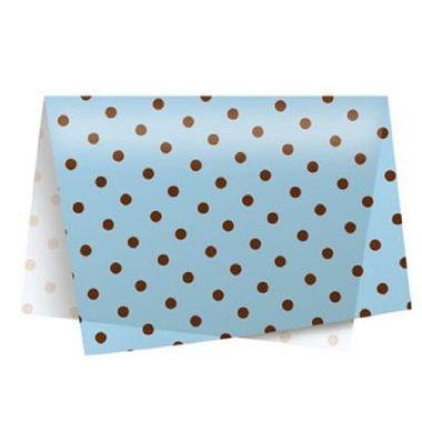 Papel-de-Seda-Poa-Azul-Marrom---49-x-69cm---03-unidades