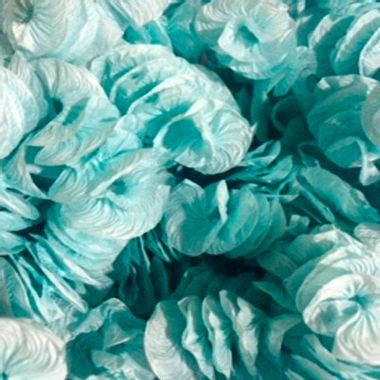 Papel-Rococo-Poa---para-bala-e-decoracao---cor-Azul-com-Branco---pacote-40-unidades
