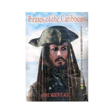 Peruca-Jack-Sparrow---Chapeu-e-Dreds---Piratas-do-Caribe---importado---unidade