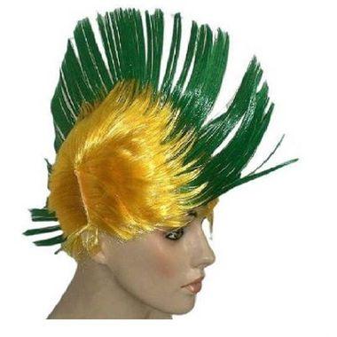Peruca-Moicano-Torcedor-Brasil---verde-e-amarela---unidade