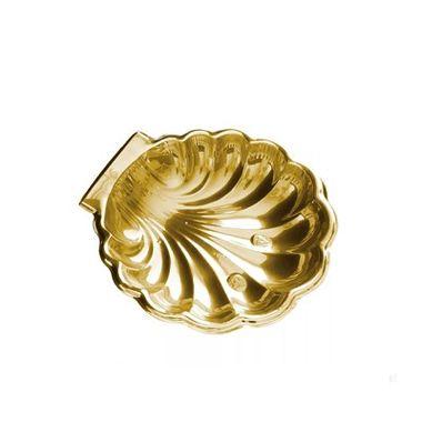 Petisqueira-Concha-16-cm---Dourada---unidade