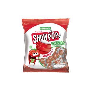 Pirulito-Bola---Showpop---Morango---embalagem-24-unidades