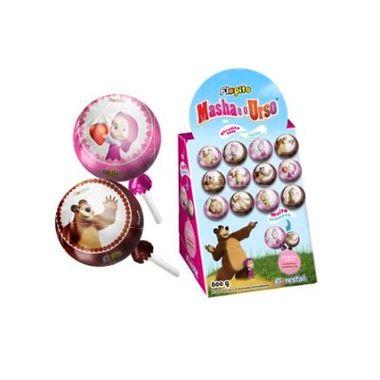 Pirulito-Bola-Masha-e-o-Urso---Sabor-Morango-e-Chocolate---600-g
