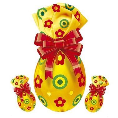 Placa-Decorativa-Ovo-de-Pascoa---Amarelo---pacote-03-unidades