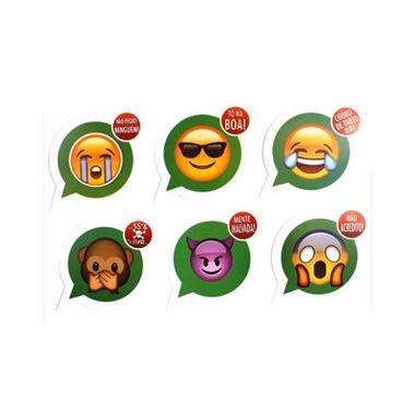 Placa-Emojis-Zap-Zap---10-unidades