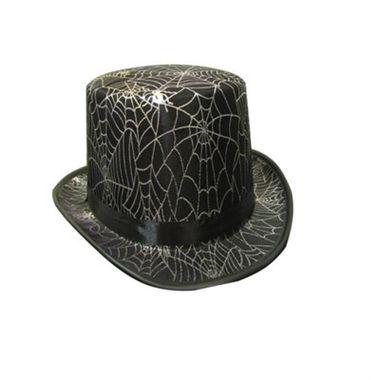 Cartola-Halloween---Teia-Prata---Tecido---unidade
