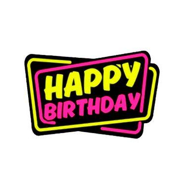 Placa-Happy-Birthday-Neon---unidade