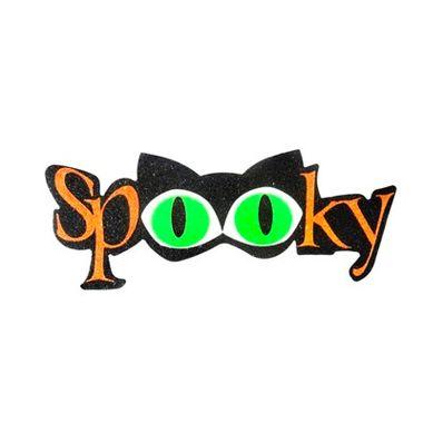 Plaquinha-de-Halloween---Spooky---MDF---unidade