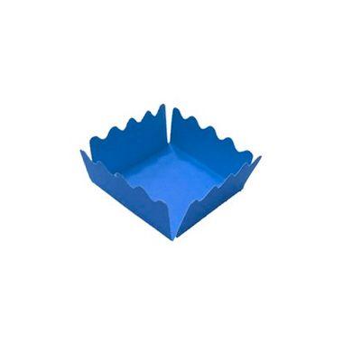 Porta-Forminha-Castelinho---Azul-Vivo---50-unidades