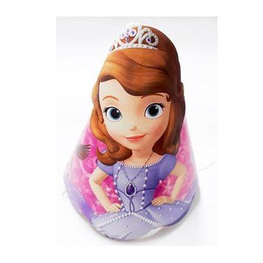 Chapeu-Aniversario-Princesinha-Sofia---embalagem-08-unidades