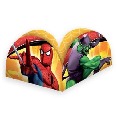 Porta-Forminha-Homem-Aranha---Spider-Sense---Spider-Man---pacote-50-unidades