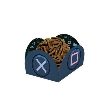Porta-Forminha-Playstation---pacote-40-unidades