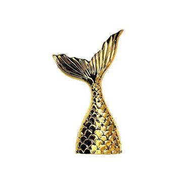 Porta-Lembrancinha-Cauda-de-Sereia---dourada---pacote-10-unidades