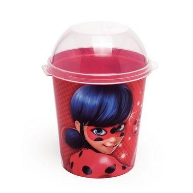 Porta-Mix-Pipoca-Miraculous---Ladybug---plastico---unidade