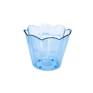 Pote-Mini-Girassol---Azul-Transparente---unidade