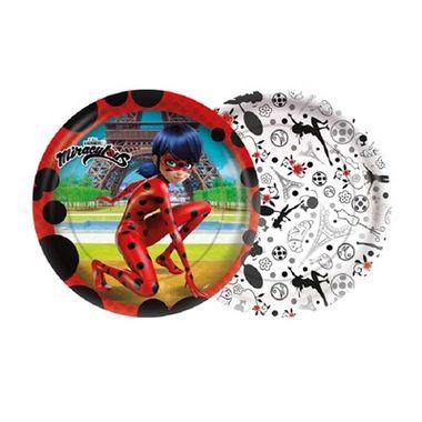 Prato-Ladybug---Miraculous---18-cm---08-unidades