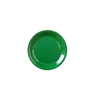 Prato-Liso-18---Verde---embalagem-10-unidades