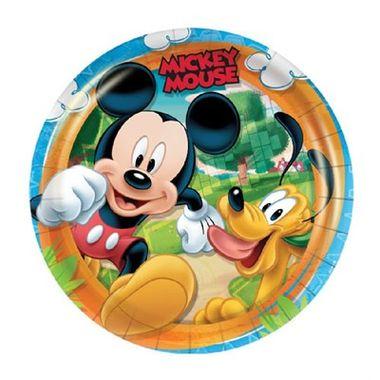Prato-Mickey-Diversao---pacote-08-unidades