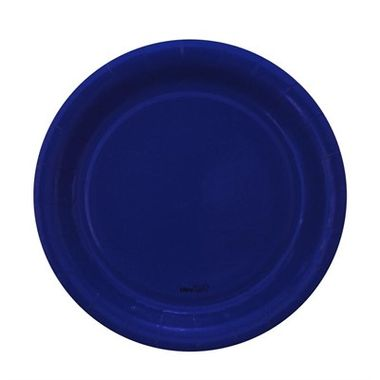 Prato-Redondo-Azul-18-cm---papel-cartao---08-unidades