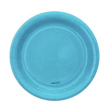 Prato-Redondo-Azul-Claro-18-cm---papel-cartao---08-unidades