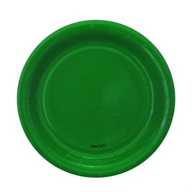 Prato-Redondo-Verde-18-cm---papel-cartao---08-unidades