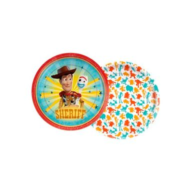 Prato-Toy-Story-4---Papel---18cm---08-unidades