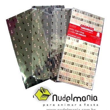Saco-Poa-Rosa-e-Marrom-Luxo---para-presente---polipropileno---15-x-29-cm---100-unidades