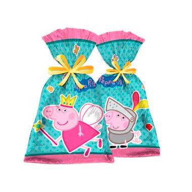 Sacola-Lembrancinha-Peppa-Pig-Princesa---pacote-08-unidades