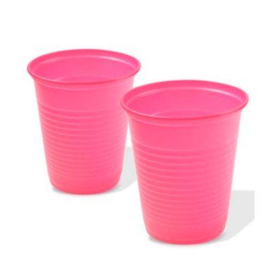 Copo-Liso-Kaixote---plastico---200-ml---Rosa---pacote-50-unidades