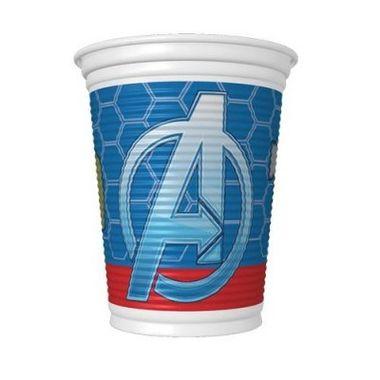 Copo-Os-Vingadores---The-Avengers---plastico-descartavel---200ml---08-unidades