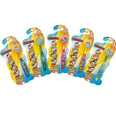 Escova-de-Dentes-Turma-da-Monica---com-tampa---infantil---unidade