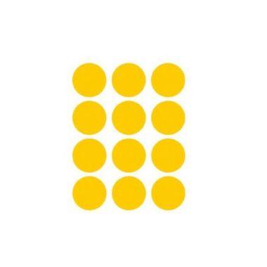 Etiqueta-Adesiva-Redonda---Amarela---100-unidades