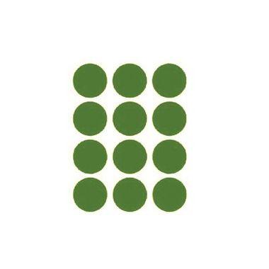 Etiqueta-Adesiva-Redonda---Verde---100-unidades
