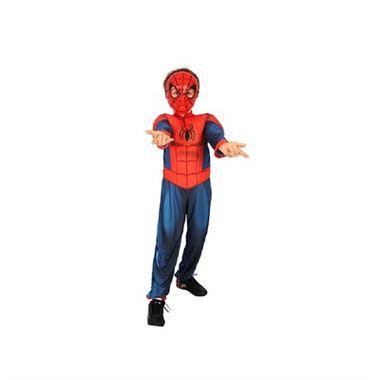 Fantasia-Homem-Aranha-Ultimate-Luxo---Longa---tamanho-P---infantil