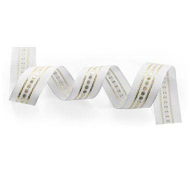 Fita-Decorativa-Ponto---Branco-com-Dourado---36-mm-x-10-metros----1516-36-02----rolo