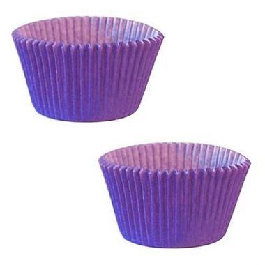 Forminha-Cupcake-Lisa---n°-0---Lilas---pacote-45-unidades